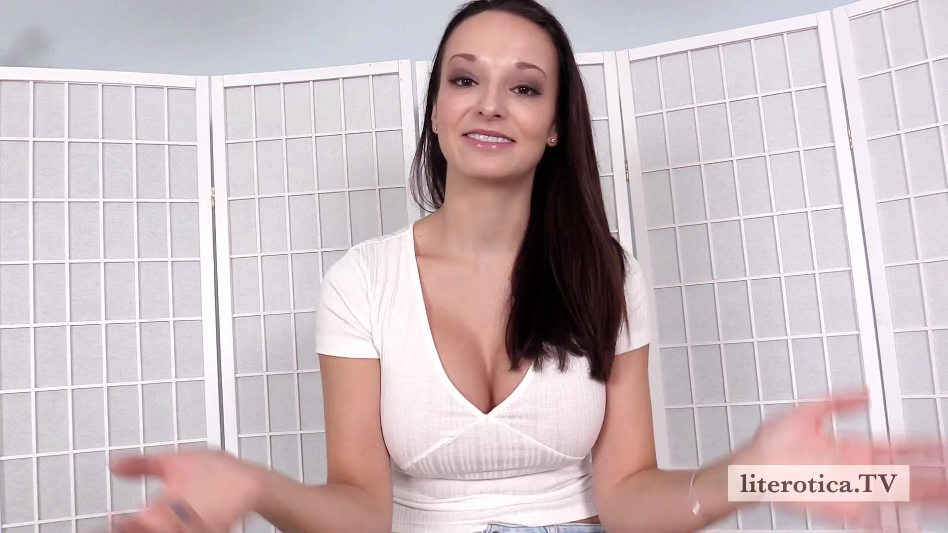 Lexi's First Porn Cock Video - LitTV